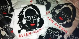 Handprinted Allen Alexis Shirts